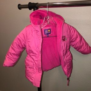 Toddler snow winter jacket with hood